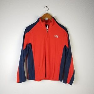 The North Face 1/4 Zip Pullover Sz XL